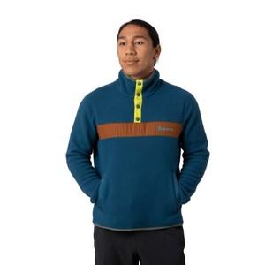 Teca Fleece Qtr Snap Jacket Mens Rio Grande