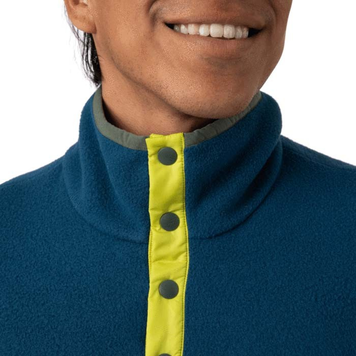Cotopaxi Teca Fleece Qtr Snap Jacket Mens Rio Grande
