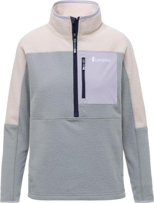 Cotopaxi Abrazo Half-Zip Fleece Jacket Womens Cream & Brush