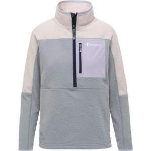 Abrazo Half-Zip Fleece Jacket Womens Cream & Brush