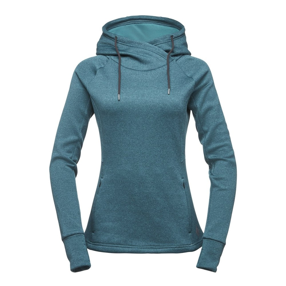Black Diamond Tech Hoody Womens EVERGREEN