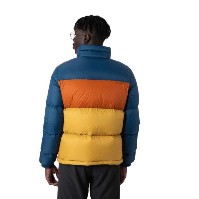 Cotopaxi Solazo Down Jacket Mens Indigo & Golden rod