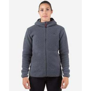 Mountain Equipment Moreno Hooded Jacket Womens in Flint Grey