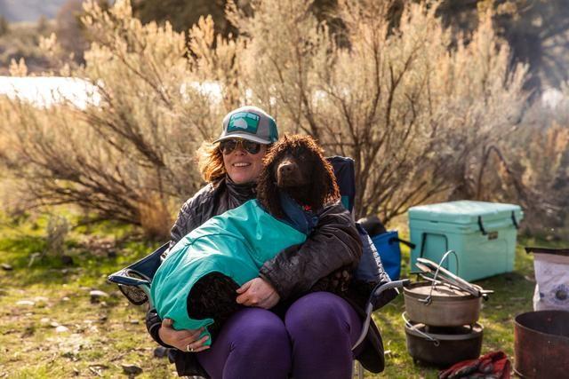Ruffwear Dirtbag Dog Towel Aurora Teal