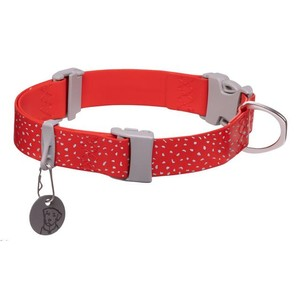 Ruffwear Confluence Collar in Red Sumac