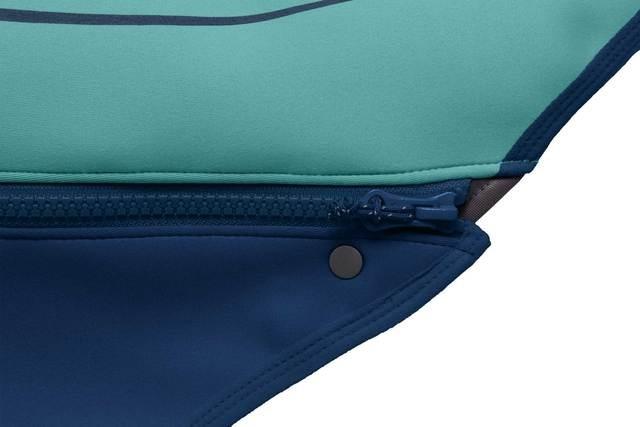 Ruffwear Undercoat Water Jacket Aurora Teal