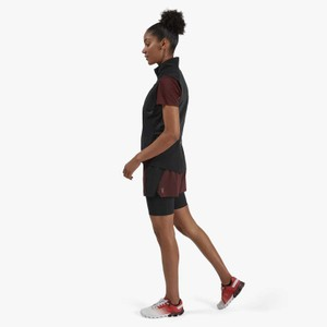Active Shorts Womens Mulberry/Black