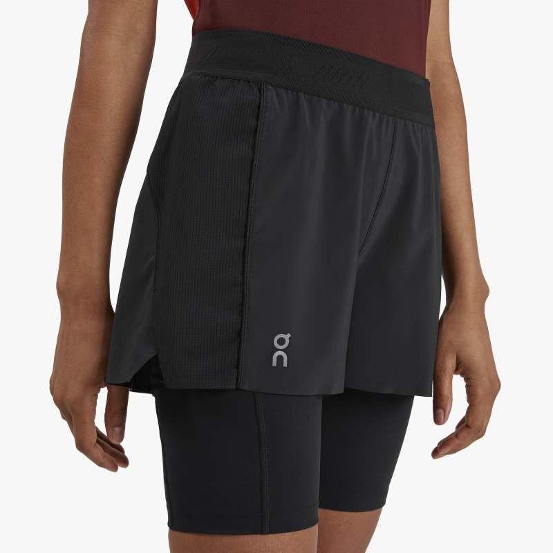 On Running Active Shorts Womens Black