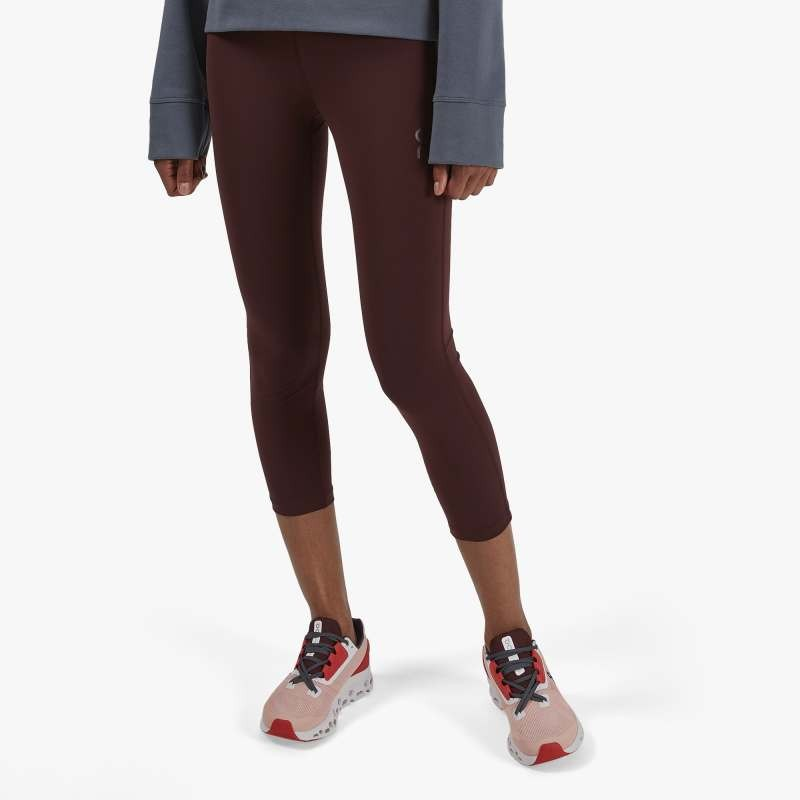 On Running Active Tights Womens Mulberry
