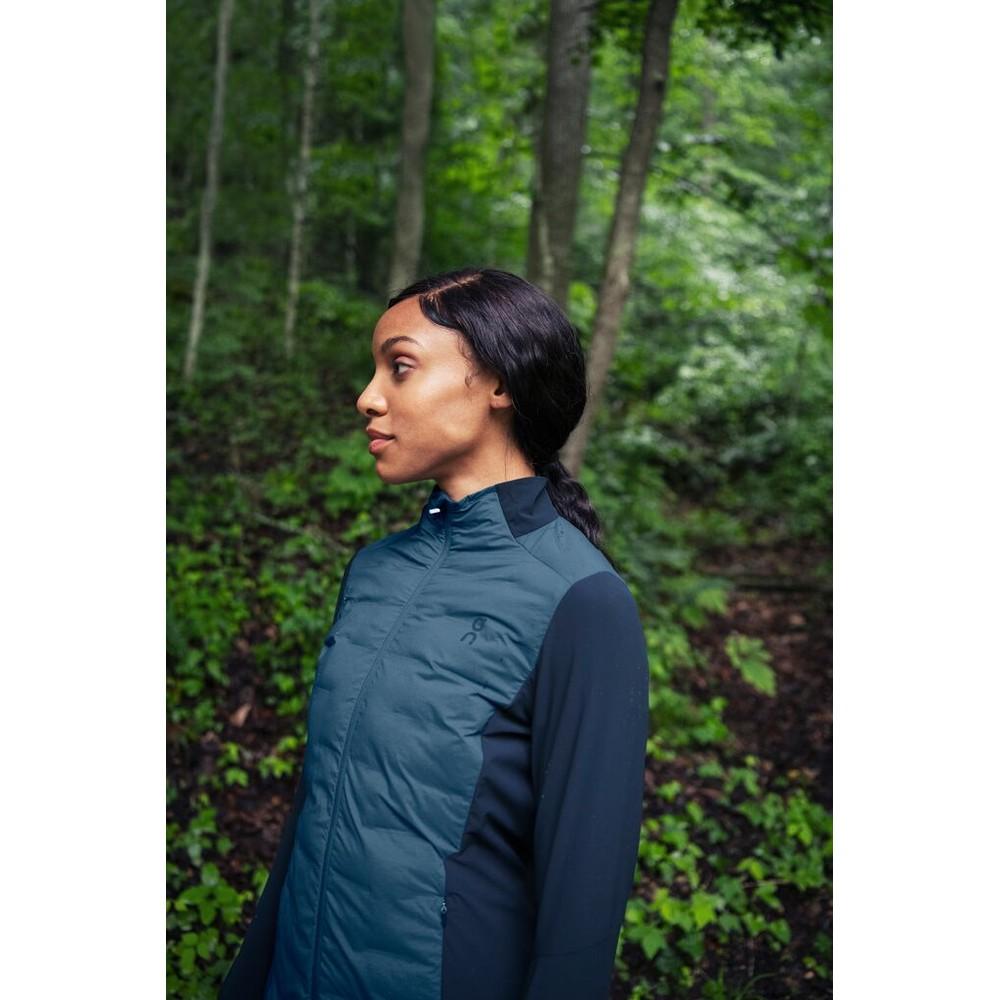 On Running Climate Jacket Womens Denim/Navy