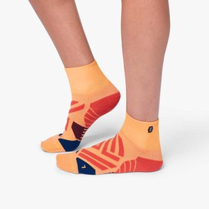 Mid Sock Womens Coral/Navy
