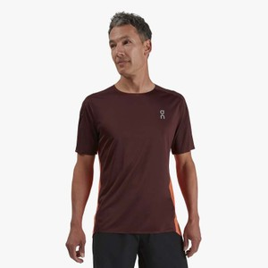 Performance T Mens Mulberry/Spice