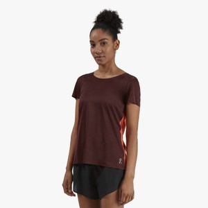 Performance T Womens Mulberry/Spice