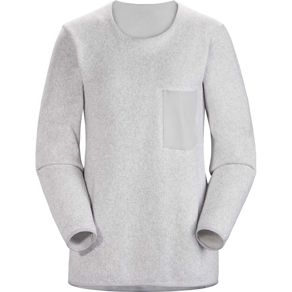 Arcteryx Covert Sweater Womens Solitude Heather