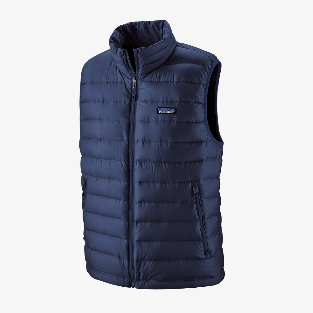Patagonia Down Sweater Vest Mens Classic Navy/Classic Navy