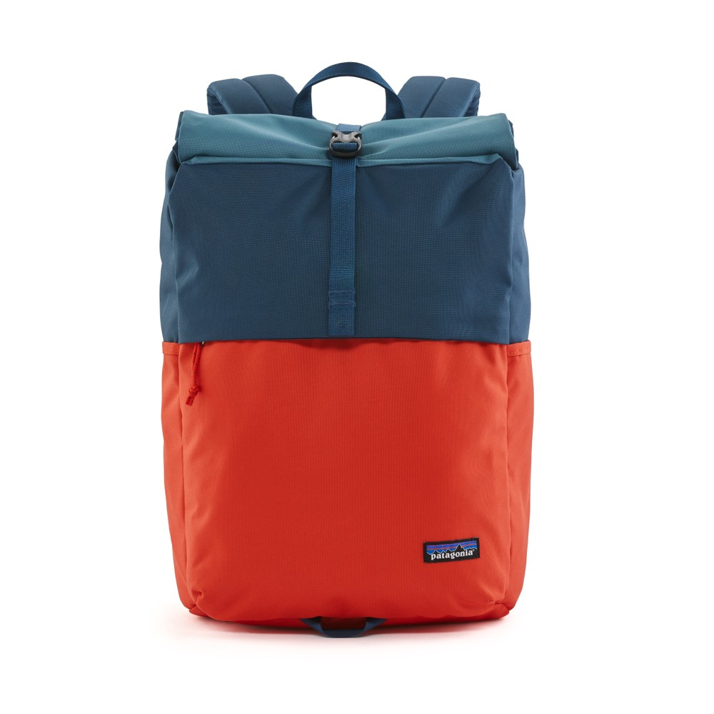 Patagonia Arbor Roll Top Pack Patchwork: Paintbrush Red