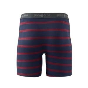 Essential Boxer Briefs 6inch Mens Pier Stripe:New Navy