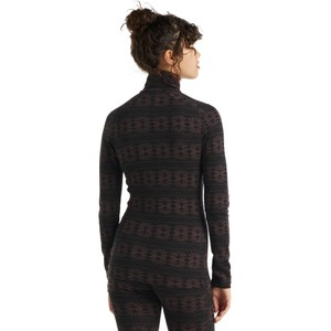 Vertex 250 LS Half Zip Crystalline Womens Black/Mink