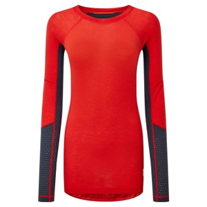Goldhill 125 Zoned Crew Womens Super Red/Dusk Blue