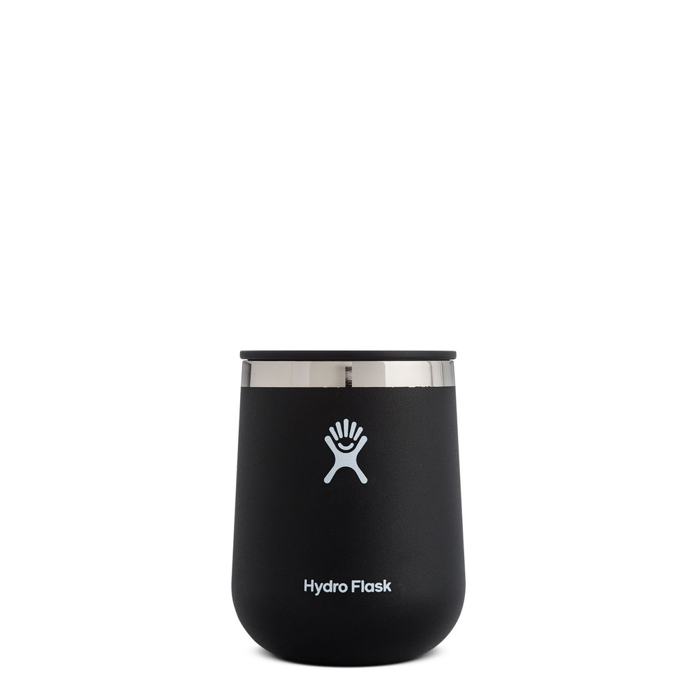 Hydro Flask 10oz Wine Tumbler Black