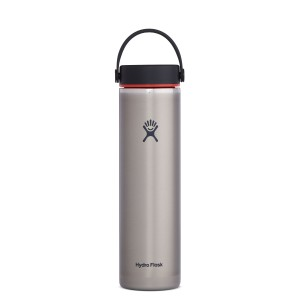 Hydro Flask 24oz Wide Mouth Lightweight in Slate