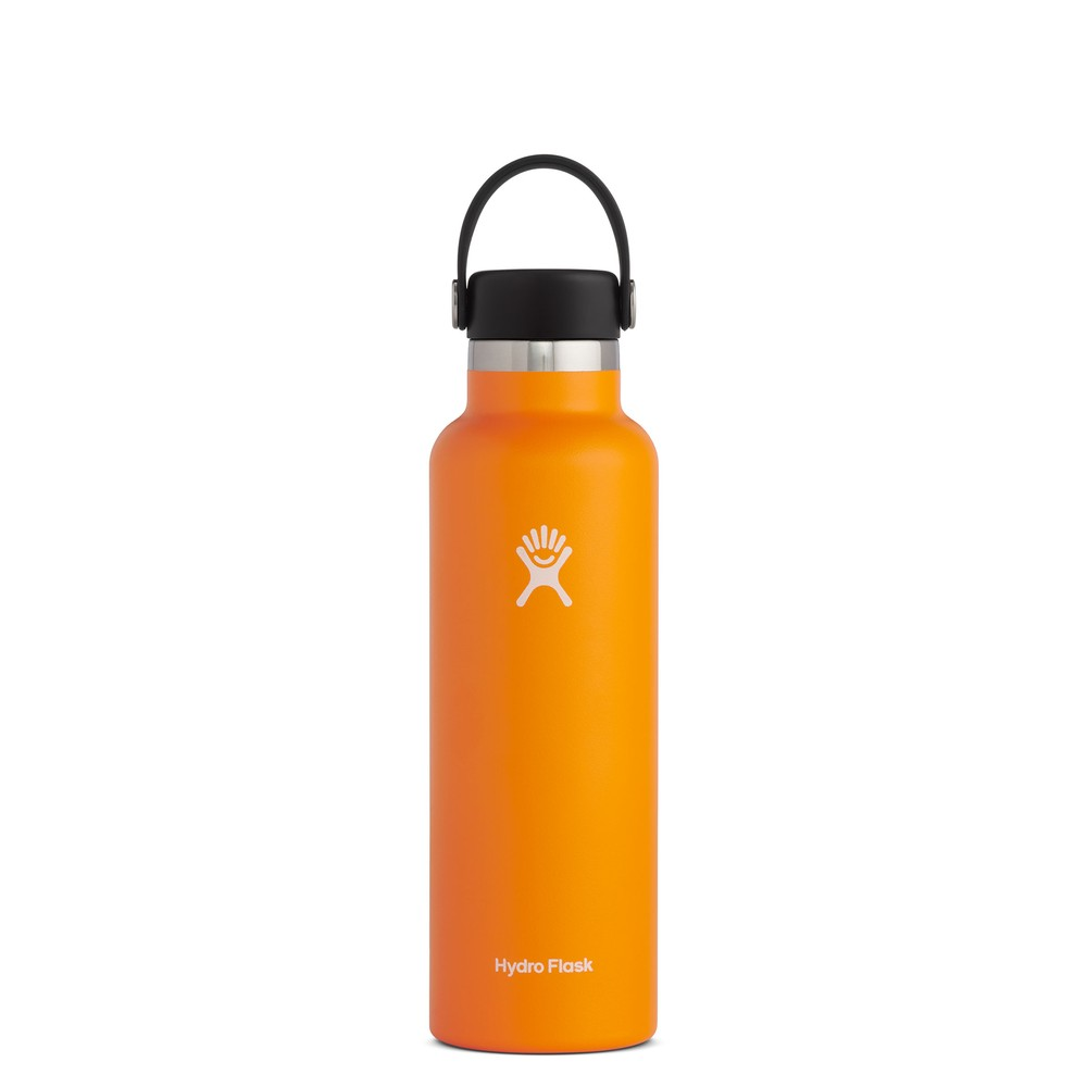Hydro Flask 21oz Standard w/std Flex Cap Clementine
