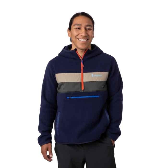 Cotopaxi Teca Fleece Hooded Half-Zip Jacket Mens Phone Home