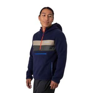 Teca Fleece Hooded Half-Zip Jacket Mens Phone Home