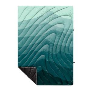 Rumpl Original Puffy Blanket in Cascade Fade - Green