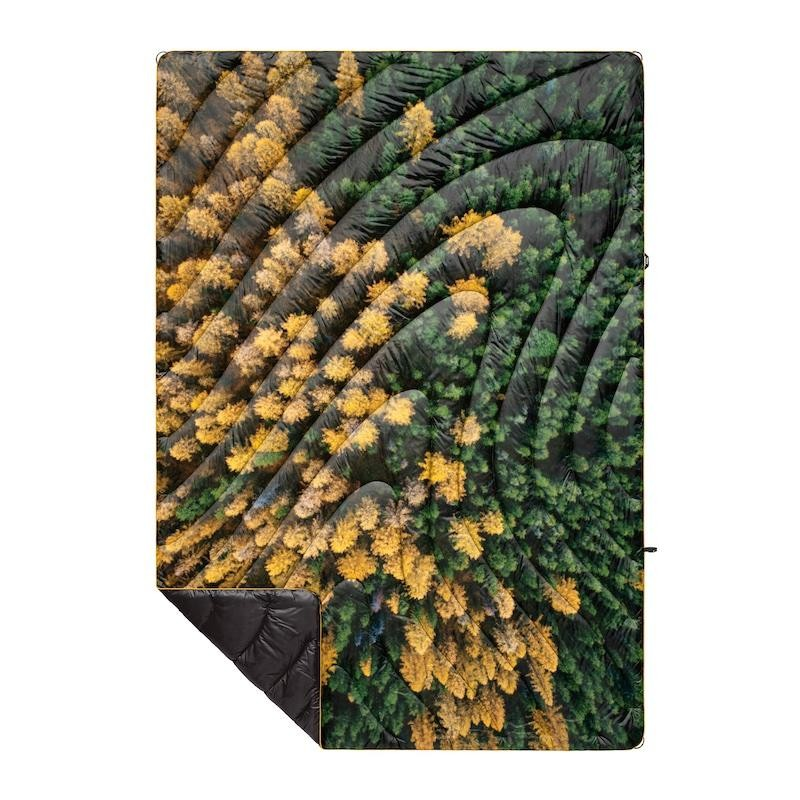 Rumpl Original Puffy Blanket Gold Growth