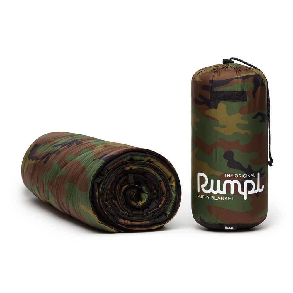 Rumpl Original Puffy Blanket Woodland Camo