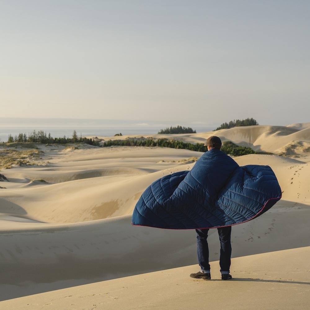 Rumpl Original Puffy Blanket Deepwater