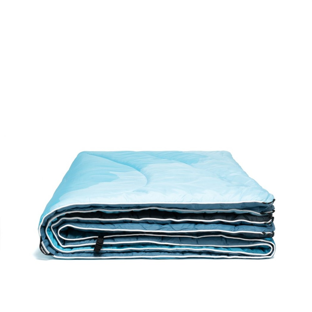 Rumpl Original Puffy Blanket Sierra Spring Fade