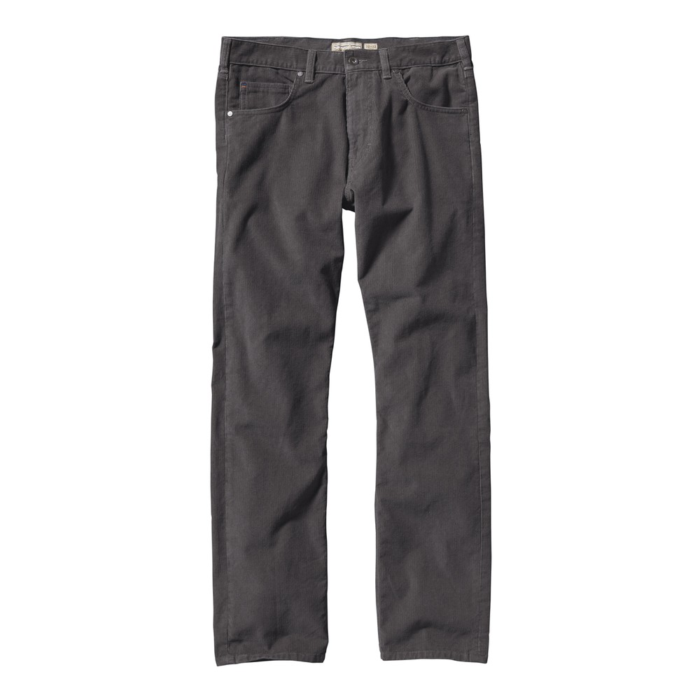 Patagonia Straight Fit Cord Reg Mens Forge Grey