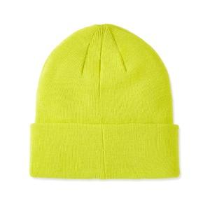 Extra Fine Merino Beanie Neon Green