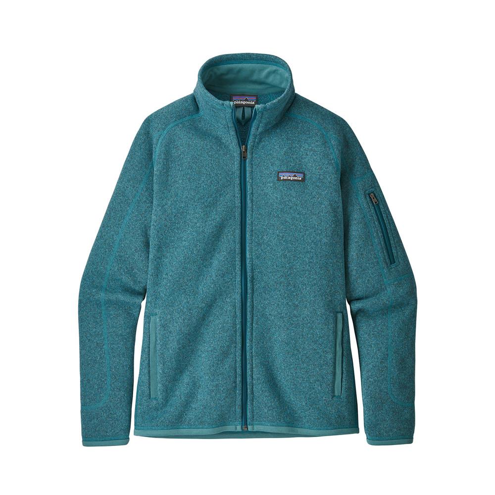Patagonia Better Sweater Jacket Womens Tasmanian Teal