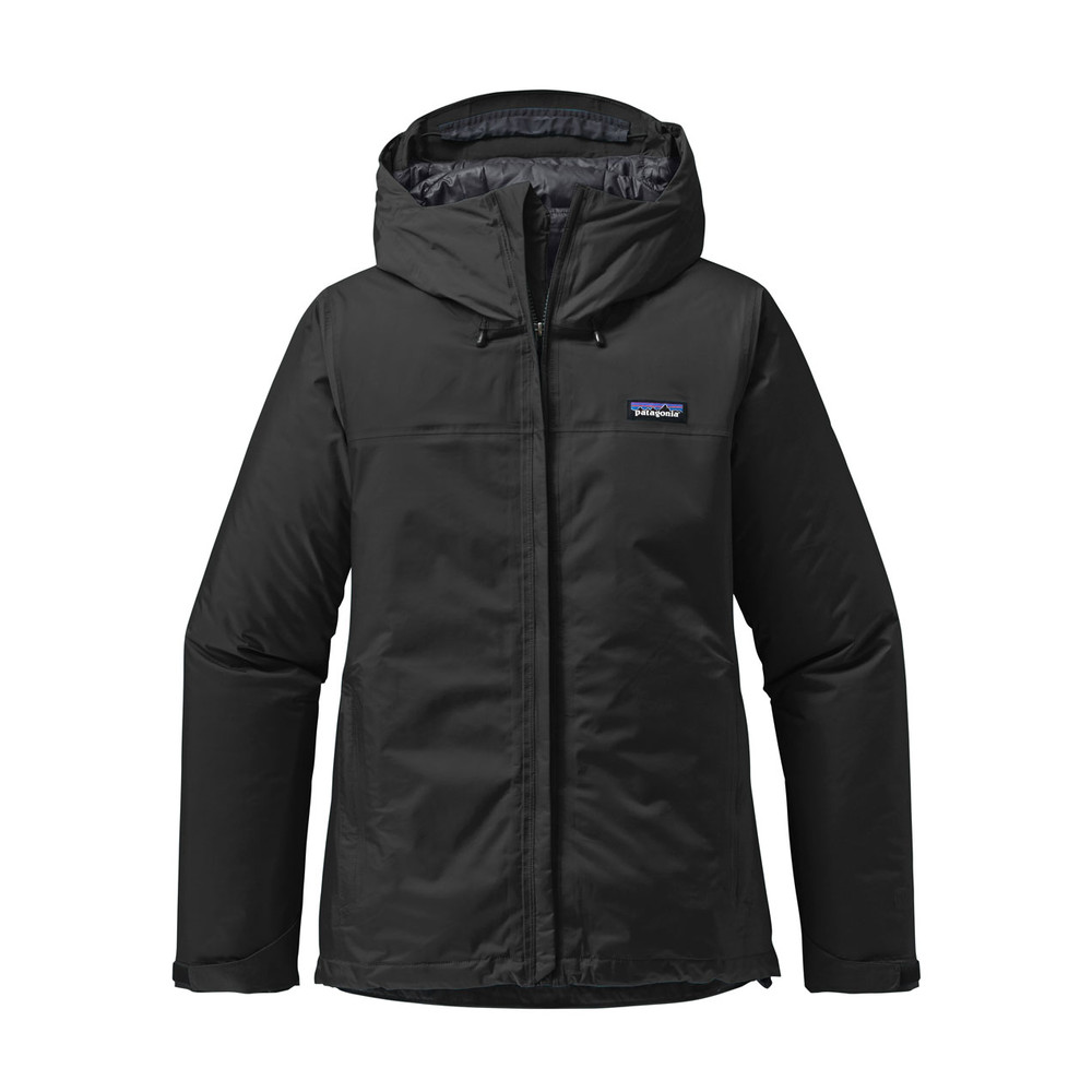 Patagonia Insulated Torrentshell Jacket Womens Black