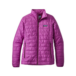 Patagonia Nano Puff Jacket Womens in Ikat Purple