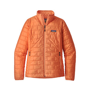 Patagonia Nano Puff Jacket Womens in Peach Sherbet
