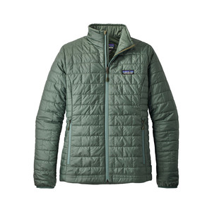 Patagonia Nano Puff Jacket Womens in Pesto