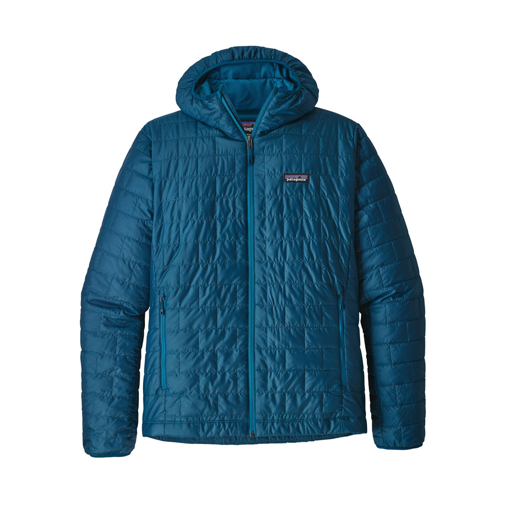 Patagonia Nano Puff Hoody Mens Big Sur Blue