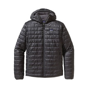 Patagonia Nano Puff Hoody Mens in Forge Grey