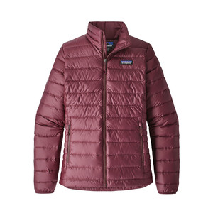 Patagonia Down Sweater Womens in Dark Currant