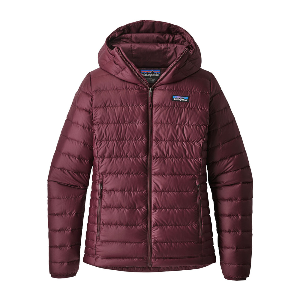 Patagonia Down Sweater Hoody Womens Dark Currant