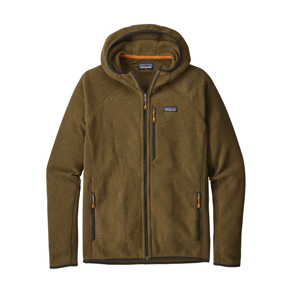 Patagonia Performance Better Sweater Hoody Mens Sediment