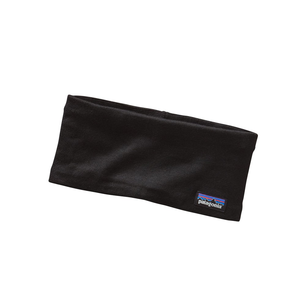 Patagonia Lined Knit Headband Black