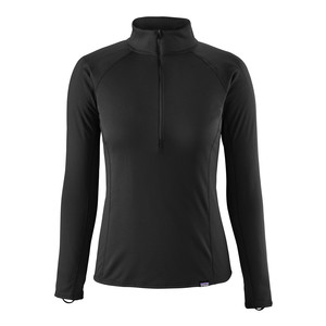 Patagonia Cap MW Zip Neck Womens in Black