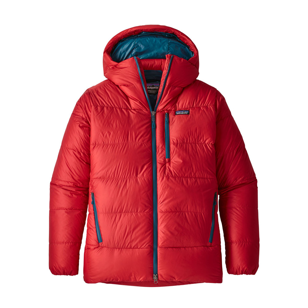 Patagonia Fitz Roy Down Parka Mens Fire