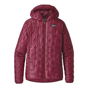 Patagonia Micro Puff Hoody Womens in Arrow Red