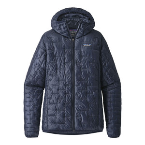 Patagonia Micro Puff Hoody Womens in Classic Navy